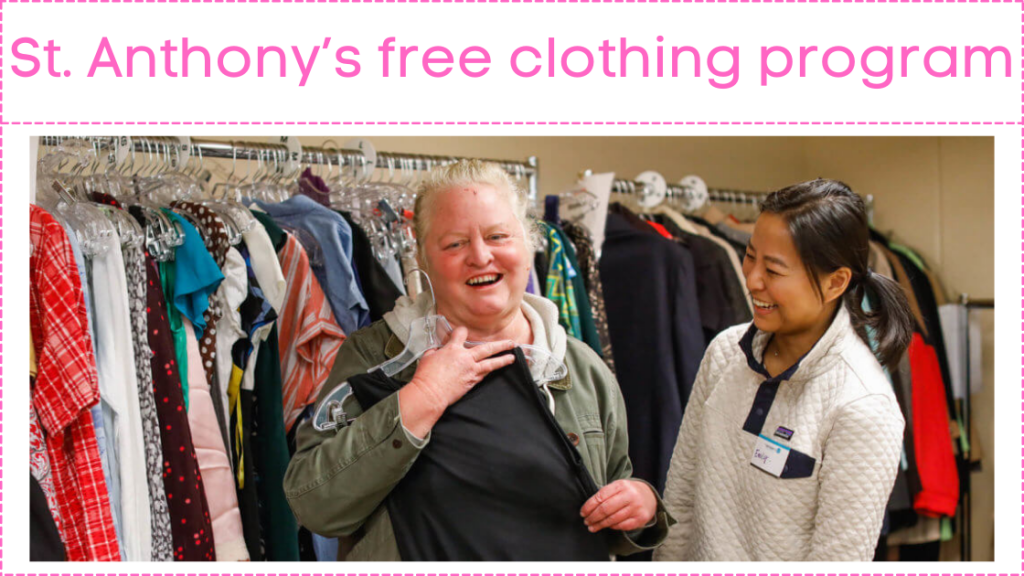 St. Anthony's free clothing program (1)