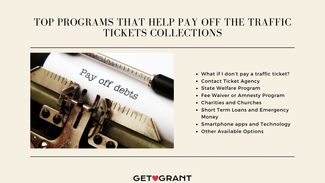 Top Programs that Help Pay off the Traffic Tickets Collections
